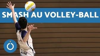 Comment FAIRE UN SMASH au Volley-ball - ENTRAÎNEMENT DE VOLLEY