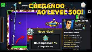 CHEGANDO AO LEVEL 500 EM UMA DAS CONTAS MAIS TOPS DO BR! - Gabriel 8 Ball