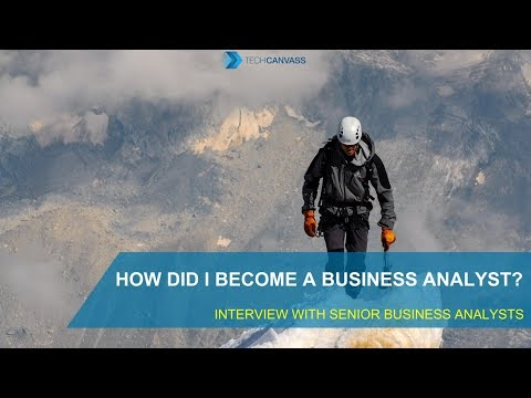 Business Analyst Tutorial | How did I become a Business Analyst?
