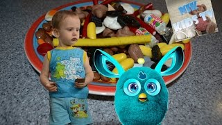 Конфеты из Финляндии Сладости Вкусняшки Лакричные конфеты Ферби Candy from Finland Furby