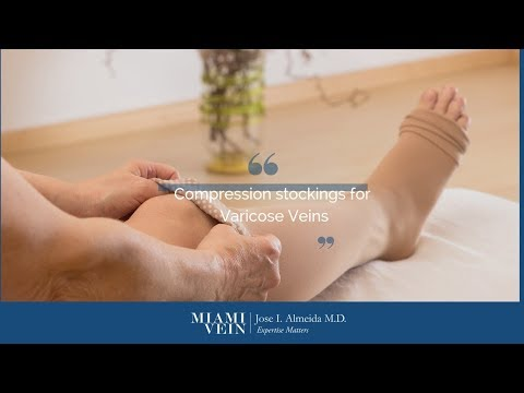 Compression Stockings For Varicose Veins Conservative Treatment By Miami Vein Center