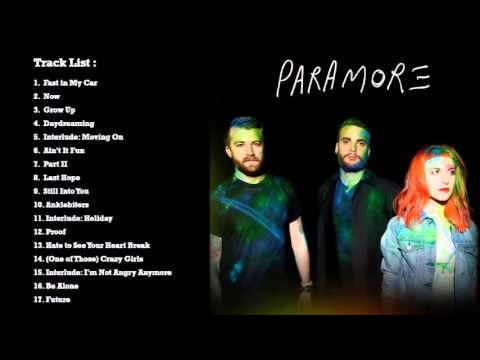 PARAMORE Self Titled 2013 full album