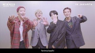 [OFFICIAL GREETINGS] WINNER [CROSS] TOUR IN JAKARTA
