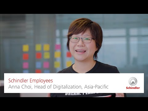 Schindler Employees – Anna Choi, Head of Digitalization, Asia-Pacific