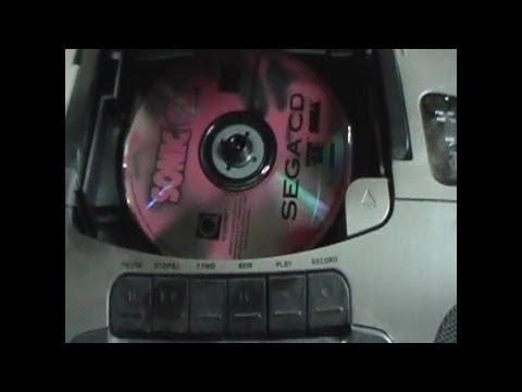Sega CD games played on Audio CD Players