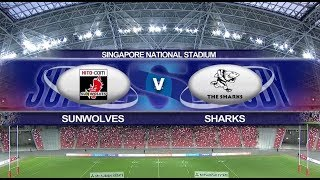 Vodacom Super Rugby | Sunwolves vs Sharks | Highlights