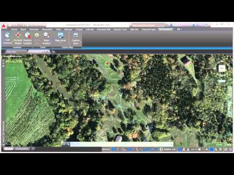 AutoCAD Geographic Location | New Features 2015