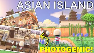 This Rural Asian Village Is So Photogenic Animal Crossing New Horizons 5 Star Island Tour Youtube