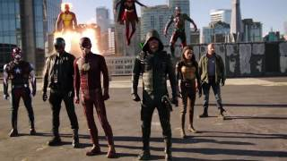 Supergirl Crossover | Heroes vs Aliens | The Dominators | The CW