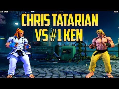 SFV S2.5 ▰ Chris Tatarian Vs #1 Online Ken Kintyo