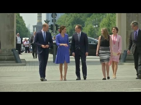 Uk Royal Family Charm Offensive Youtube