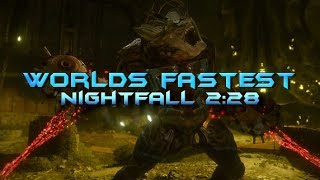 Destiny - Worlds Fastest Nightfall! [2:28]