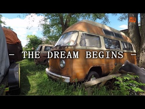 The Dream Begins - Getting Wisdom For My VW Bus - Volkswagen Bus Wisdom.