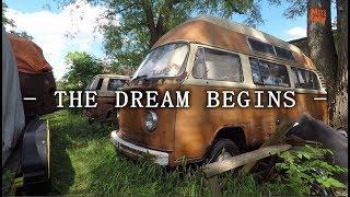 The Dream Begins - Getting Wisdom For My VW Bus - Volkswagen Bus Wisdom.