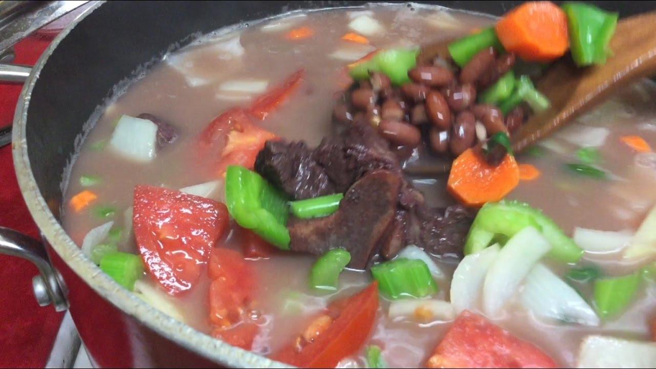 Resultado de imagen para verduras sopa con frijoles