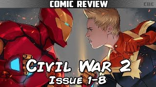 Civil War II Issue 1-8 Complete Story Arc & Review