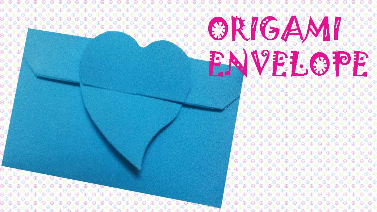 How to make Paper Envelope | Easy Origami Envelope Tutoria… | Flickr | 720x1280