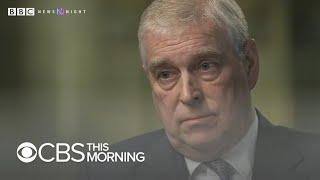 Prince Andrew says staying with Epstein in NYC was