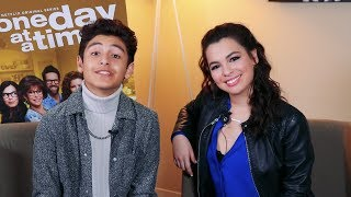 Isabella Gomez & Marcel Ruiz From Netflix's 'One Day At A Time' Say It Gets Better