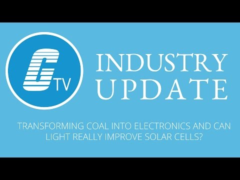 Transforming Coal into Electronics and using INTENSE Light to improve Solar Cell materials!