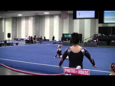 Savannah Kooyman - Floor Routine for 2016 Meet Season