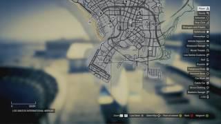 Lokasi senjata GTA v PS 3