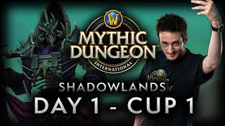 MDI Shadowlands Cup 1 | Day 1 Full VOD