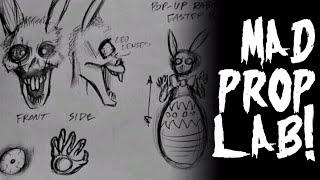 """""""Pop-Up Rabid Easter Bunny""""   Halloween Prop Concept   Mad Prop Lab"""