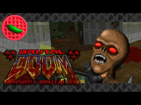 Imp-pressive Feat -- Let's Play Brutal Doom v20: Project Brutality mod (Part #14) (1080p Gameplay)