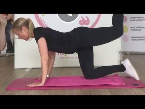 Workout mit Susan vom 4.Mai