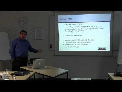 Building Eclipse 4 Applications with Maven Tycho - Eclipse DemoCamp Nuremberg