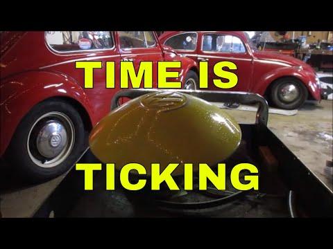 DIY VW BUG HUBCAP WALL CLOCK
