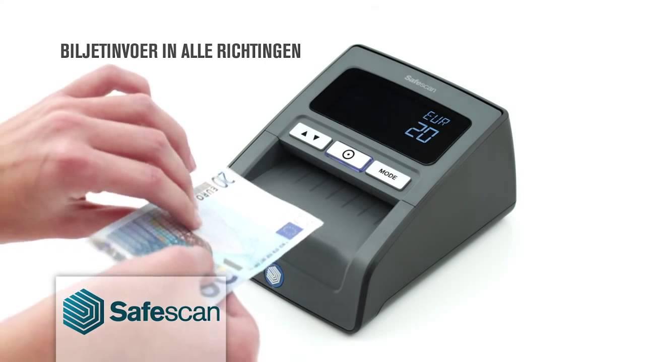 Verrassend Valsgeld Detector Safescan 155i Automatisch Zwart - YouTube OF-87