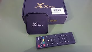 Android TV Box X96 Mini 1GB/8GB Unboxing + Demo(, 2017-10-31T12:23:44.000Z)