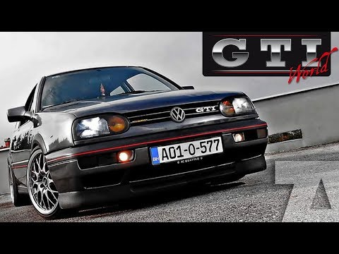VOLKSWAGEN Golf III (Mk3) GTI 1994. - TEST/PREZENTACIJA VOZILA