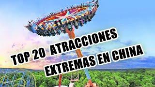 Atracciones Extremas - China 2019 | Extreme Attractions - China 2019