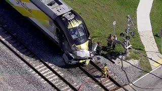 1 dead in Brightline train crash in Pompano Beach