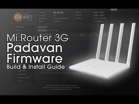 Mi Router 3G Padavan Build & Installation Guide (VLAN, VPN, Download &  Torrent Manager)