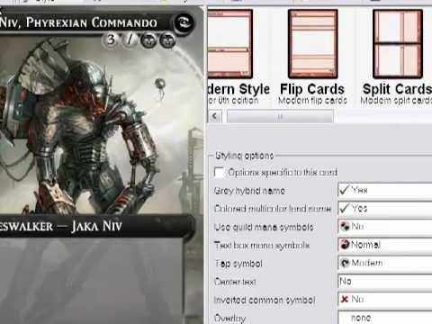 Magic The Gathering Tutorial How To Install Additional Templates