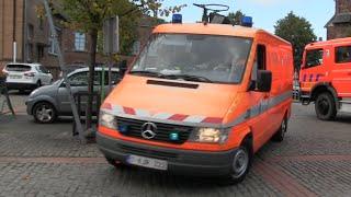 (Leuze-en-Hainaut) Pompiers avec AMU Leuze02 + D3 + B1