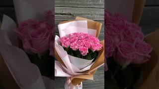 Бест-серия CARAMEL из 25 роз