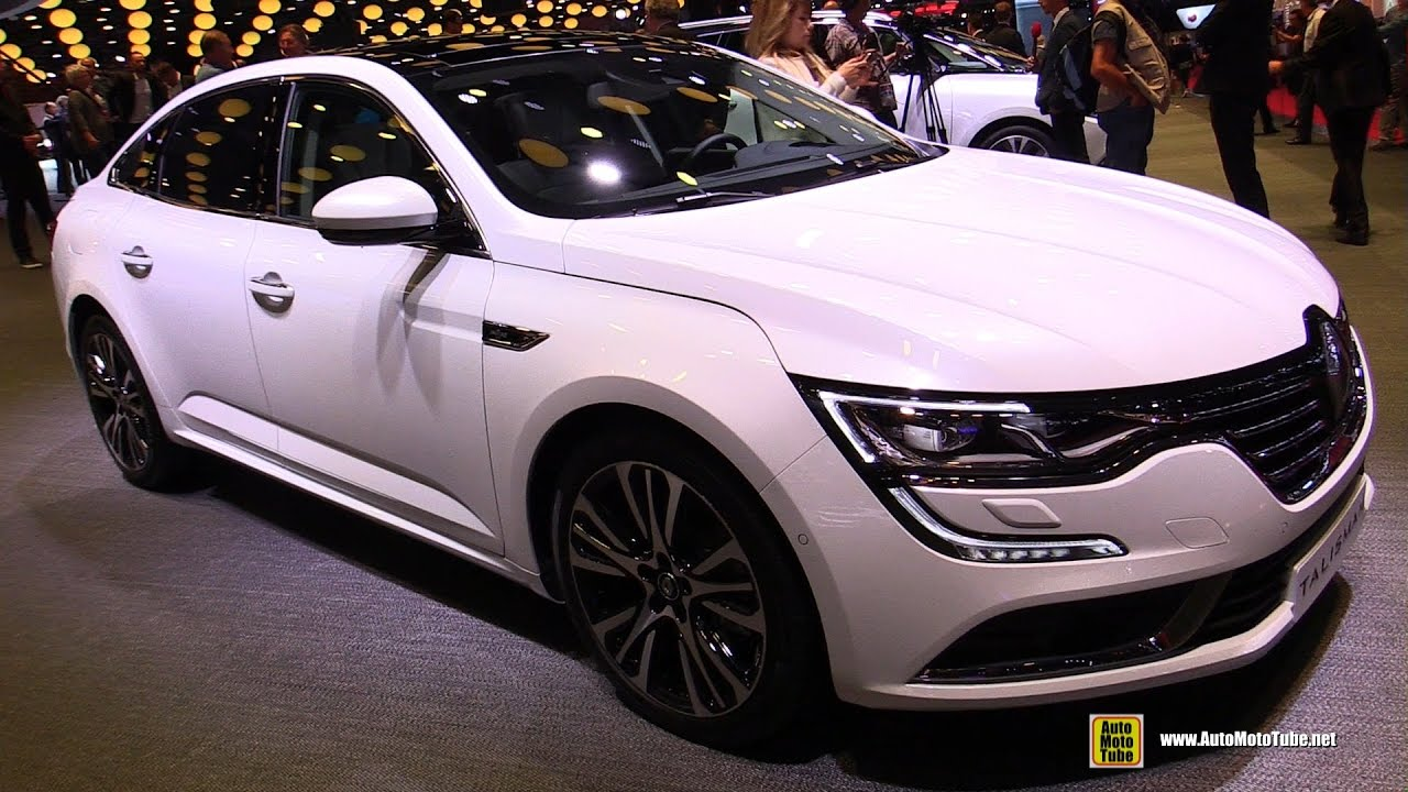 2017 renault talisman initiele exterior and interior walkaround 2016 paris motor show youtube. Black Bedroom Furniture Sets. Home Design Ideas
