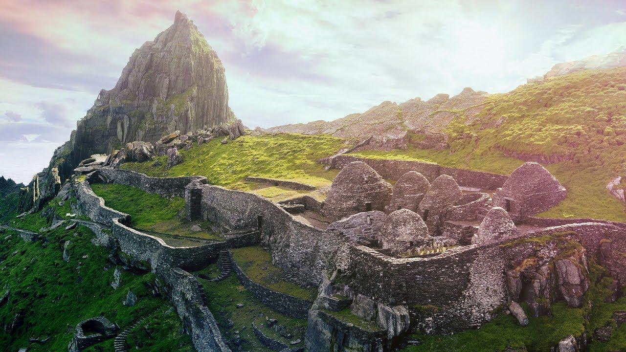 Islands Skellig Star Wars