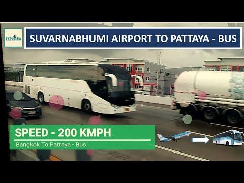Suvarnabhumi Airport to Pattaya By Bus | Road Experience
