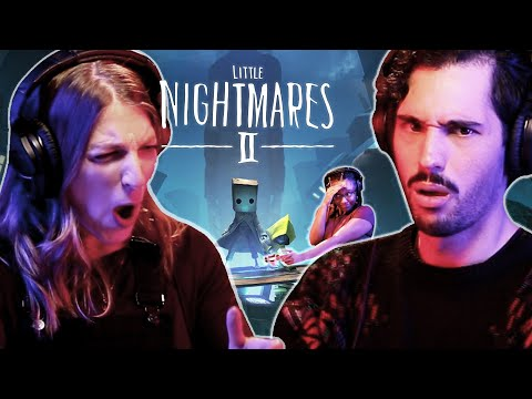 Scared People Play Little Nightmares 2  