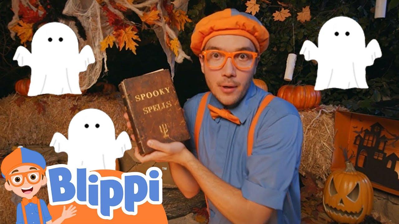Blippi Spooky Halloween Adventure | Halloween Videos For Kids | Blippi Videos