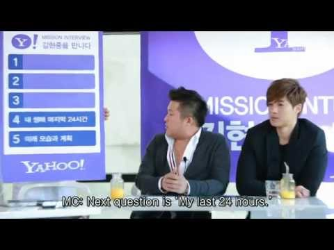 Kim Hyun Joong - Yahoo! Celeb Mission Full Interview (Eng Sub)