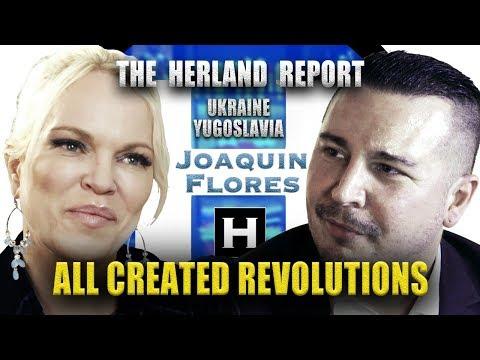 yugoslavia,-ukraine,-all-created-revolutions---joaquin-flores,-herland-report-tv