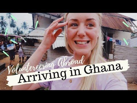 Volunteering Abroad - ARRIVING IN GHANA WITH HUMANITAS CHARITY  | SJ STRUM