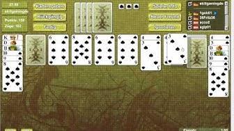 Spider Solitaire online spielen - Skill7 gespielt von skillgaming.de